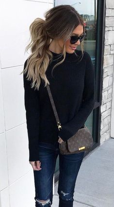 black street style: trending looks for spring 2017 #winterfashion