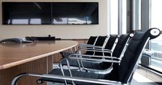 Meeting room into the premises of Neuberger Berman in The Hague, The Netherland