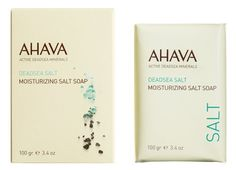 Ahava Moisturizing Salt Soap, 3.40 Ounce by AHAVA. $9.00. Paraben free. Hypoallergenic.. Allergy tested. This unique soapless bar provides the dual benefits of cleansing and conditioning. Gently and thoroughly wash away impurities as skin is infused generously with moisture-enabling minerals. This healing soap can be used on the face or body.