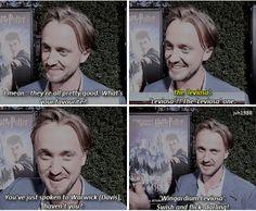 Tom Felton - favorite spell