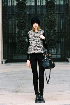 Vanessa Jackman: Paris Fashion Week AW 2012....Jemma