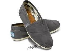 classics toms shoes - just plain grey ones are good too :)