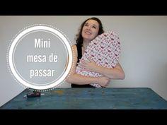Mini tábua de passar ::: Dica de Costura - YouTube