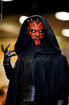 Darth Maul cosplay, SD Comic-Con 2012 by The.Erik.Estrada, via Flickr