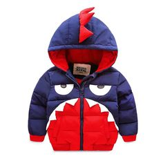 Cheap winter girls, Buy Quality boys hooded coat directly from China jacket winter kids boy Suppliers: 2016 new winter Girls Kids boys Hooded zippered monster cotton jacket coat down comfortable cute baby Clothes Children Clothing Baby Outfits, Kids Outfits, Down Parka, Down Coat, Toddler Boys, Kids Boys, Winter Kids, 2015 Winter, Cotton Jacket