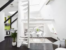 Scandinavian loft with unique floor plan 02
