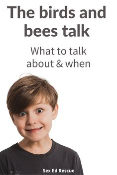 Find out what kids need to know (and when) for the birds and bees talk (AKA sex education). Parenting Advice, Kids And Parenting, Playing Doctor, New Parent Advice, Birds And The Bees, Positive Body Image, Physical Development, Getting Old, Parents