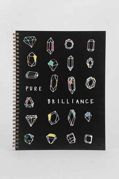 Pure Brilliance Spiral Notebook