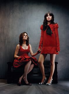 Deschanel sisters. They are perfect.