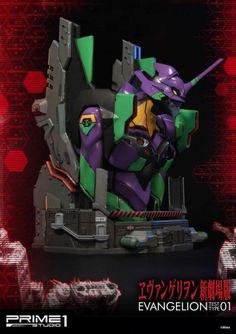 Evangelion Unit 01 Premium Bust | Evangelion:BR