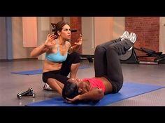 Jillian Michaels: No More Trouble Zones Workout- Circuit 5! Kicks butt!
