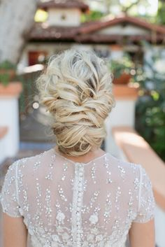 Luxe Volume - 30 Most-Pinned Beautiful Bridal Updos - Livingly
