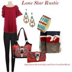"""Wild Red""  http://www.therusticshop.com/?store=LoneStarRustic"