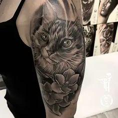 Los Mejores Tatuajes Realistas de Barcelona - Steel of Doom New Tattoos, Barcelona, Animals, Best Tattoos, Get Well Soon, Animales, Animaux, Barcelona Spain, Animal