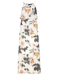 Floral printed strappy maxi dress #DorothyPerkins