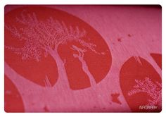 Marsupial Mamas, LLC — Natibaby Red-Pink Alma Mater (Linen Blend)