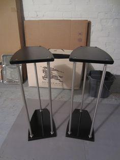 IKEA Hackers: GRUNDTAL Lightweight Speaker Stands - 3 Different Sizes!