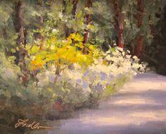 Azalea Path, painting by artist Pat Fiorello