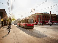 TTC streetcar on King Street. The Insider's Guide: Things to Do in Toronto - Condé Nast Traveler Toronto Street, Toronto Life, Downtown Toronto, Toronto Vacation, Toronto Travel, Vacation Ideas, Niagara Falls Toronto, Visit Canada, City Aesthetic