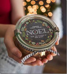 Free Holiday Printables | Mason Jar Crafts Love
