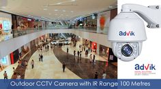 The ideal outdoor #CCTV #camera, equipped to handle an #IR range of 100 metres.more details:http://advik.net/