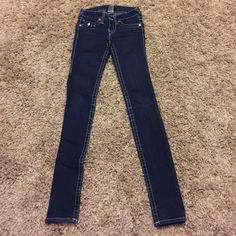 True Religion Jeans Real true religion jeans size 25 (size 0) True Religion Pants Skinny