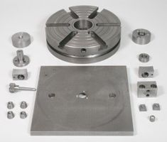 The Complete Set of Parts for Rotary Table