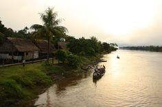Mit dem Frachterschiff durch den Dschungel von Peru nach Iquitos