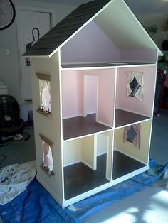"The Alyssa - Handmade Dollhouse for 18"" Dolls. $650.00, via Etsy."