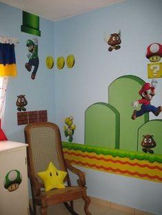 Mario Bros Decals