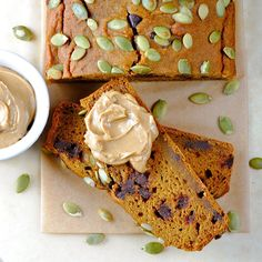 Low fat Pumpkin Bread - 11/2 cups pumpkin puree 3/4 cups AP flour 1/2 ...