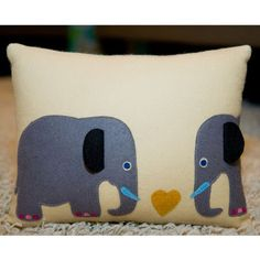Madison Avenue Baby Craft & Decorate: Independent Designers' Shop/Elephant Pillow