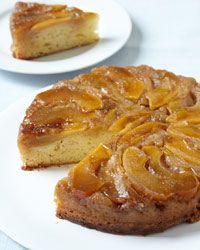 Apple Upside-Down Cake Recipe on Food & Wine