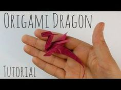 Dragon Origami facile par Armin Täubner / Tutorial - Post Tutorial and Ideas Origami Rose, Origami Ball, Instruções Origami, Origami Tattoo, Origami Star Box, Origami Butterfly, Paper Crafts Origami, Origami Flowers, Paper Crafting