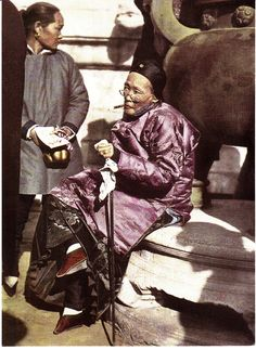 Notice the boud feet...Life in Qing Dynasty-Republic of China in the mid-late 19th Century