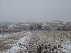 La Livinière sous la neige