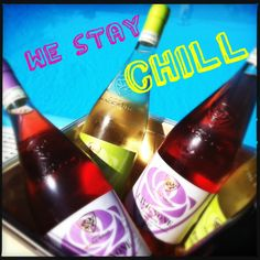 stop stressin', chill out it's friday! #wine