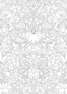 make the iconic liberty print lodden your own with the beautiful liberty colouring book