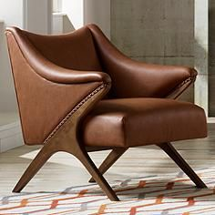 leather accent chairs sturdy camping chair 601 best images home furniture new seating designer looks and for lamps plus