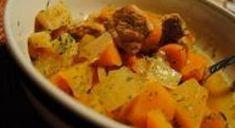 Tous les détails à l'intérieur. Thai Red Curry, Chicken, Cooking, Ethnic Recipes, Food, Root Vegetables, Meal, Kitchens, Mom