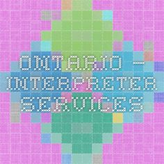 Ontario – Interpreter Services