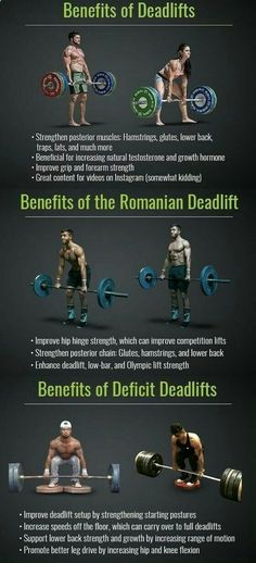 you know that deadlifts keep you young, perfect your posture, and burn a ton of fat, but their benefits sure as heck dont stop there. The Deadlift works more muscles than any other exercise, including the squat. The lift engages all of the major musc Fitness Workouts, Fitness Motivation, Weight Training Workouts, Gym Workout Tips, Fitness Tips, Health Benefits, Health Tips, Health And Wellness, Health Fitness