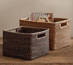 Clive Tightweave Utility Basket #potterybarn