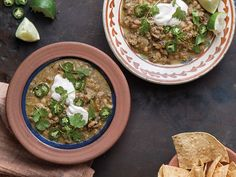 Saveur Cookbook, Green Chicken and White Bean Chili, Soups & Stews