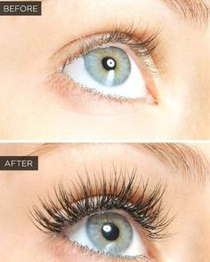 Lash extensions give you the ability to get rid of your mascara. Enjoying waking up with long lashes everyday. Full sets start at $150. Call today to schedule your first appointment! #Eyelashes #EnvisionROC