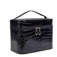 Blue Banana 50's Rigid Cosmetic Bag (Black)