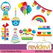 Cool rainbow party II