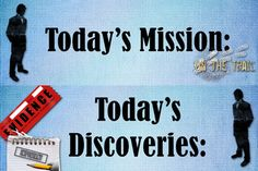 Objectives and Learnings: Detective Theme Bulletin Board Header Sunday School Decorations, School Themes, Classroom Bulletin Boards, Classroom Themes, Objectives Board, Homework Board, Detective Theme, Mission Possible, First Year Teachers