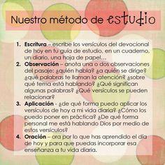 Metodo de Estudio Bíblico !