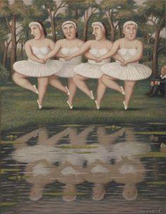 Танец маленьких лебедей. Автор работ: Владимир Любаров (Vladimir Lyubarov).
